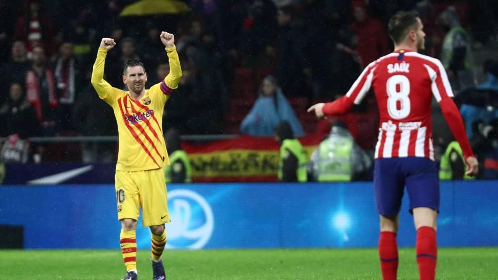 Messi resolvió de nuevo el encuentro | Imagen vía Marca