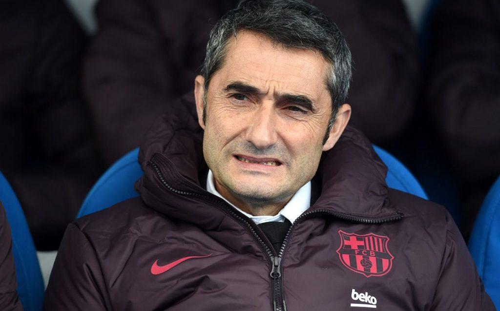 Ernesto Valverde sufrió en el banquillo ante la Real | Imagen via FCBarcelonanoticias