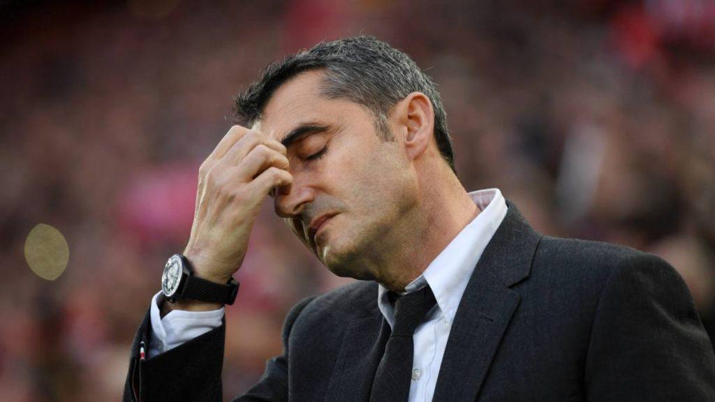 Ernesto Valverde se encuentra en una situación comprometida con el Barça | Imagen vía as.com