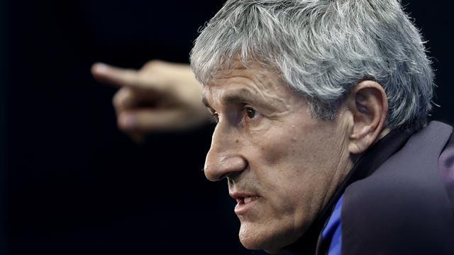 Quique Setién, en rueda de prensa | Imagen via Eurosport.es