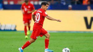 Coutinho con el Bayern de Munich