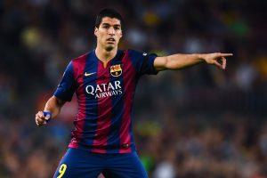 Debut de Suárez en Champions. Fuente: Twitter.com
