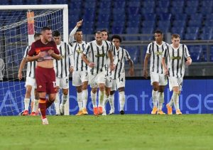 Juventus contra Roma. Fuente: Getty Images