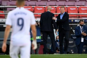 Koeman y Zidane. Fuente: Getty Images