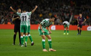 Jugadores celebrando la victoria. Fuente: Getty Images