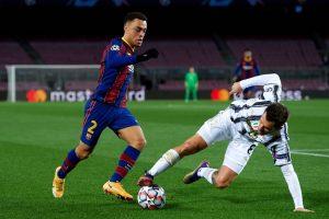 Dest en Champions frente a la Juventus. Fuente: Getty Images
