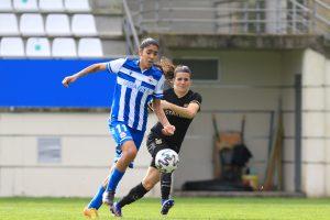 Gabriela intenta deshacerse de Pereira. Fuente: FC Barcelona