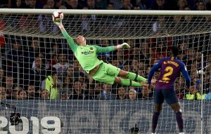 Ter Stegen salva al Barça. Fuente: All Football