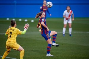 Alexia marca el segundo gol. Fuente: Getty Images