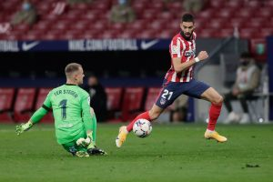 Carrasco supera a Ter Stegen y adelanta al Atlético de Madrid. Fuente: Getty Images