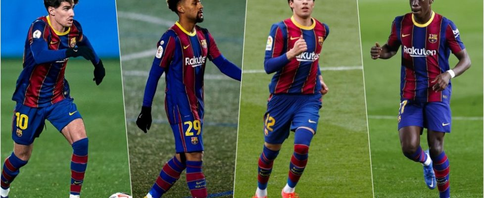 Los jóvenes piden paso en el Barça. Fuente: Getty Images