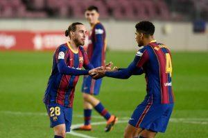 Oscar Mingueza y Araujo se consolidan en el primer equipo Fuente: Getty Images