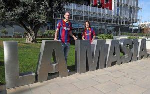 """Jugadores """"Made in La Masía"""". Fuente: FC Barcelona"""