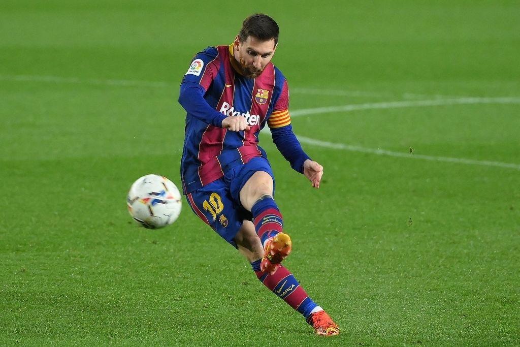 Messi firmó otra obra de arte en el Camp Nou