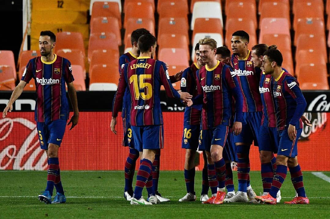 Quedan cuatro jornadas emocionantes y el Barça sigue en la lucha